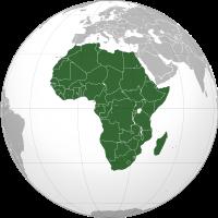 africký kontinent
