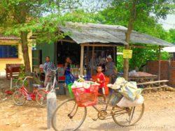 Kolo a lidé v Kambodže