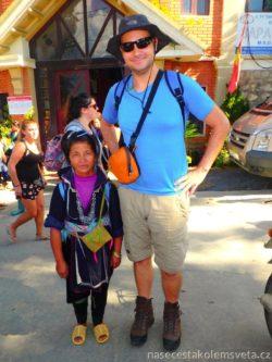 Paní z kmene Černý Hmong Tao Vietnam