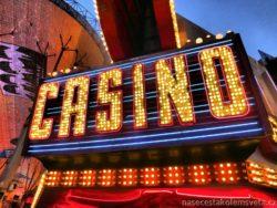 Casino nápis