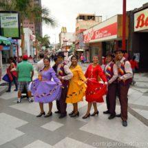 Tanečníci v Arice