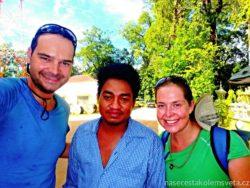 Den - řidič tuk tuku Angkor Vat
