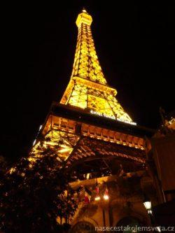 Eiffelova věž v Las Vegas