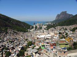 Favela Rocinha panorama