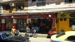 shops in favela Rocinha