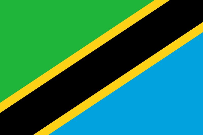 Vlajka Tanzánie