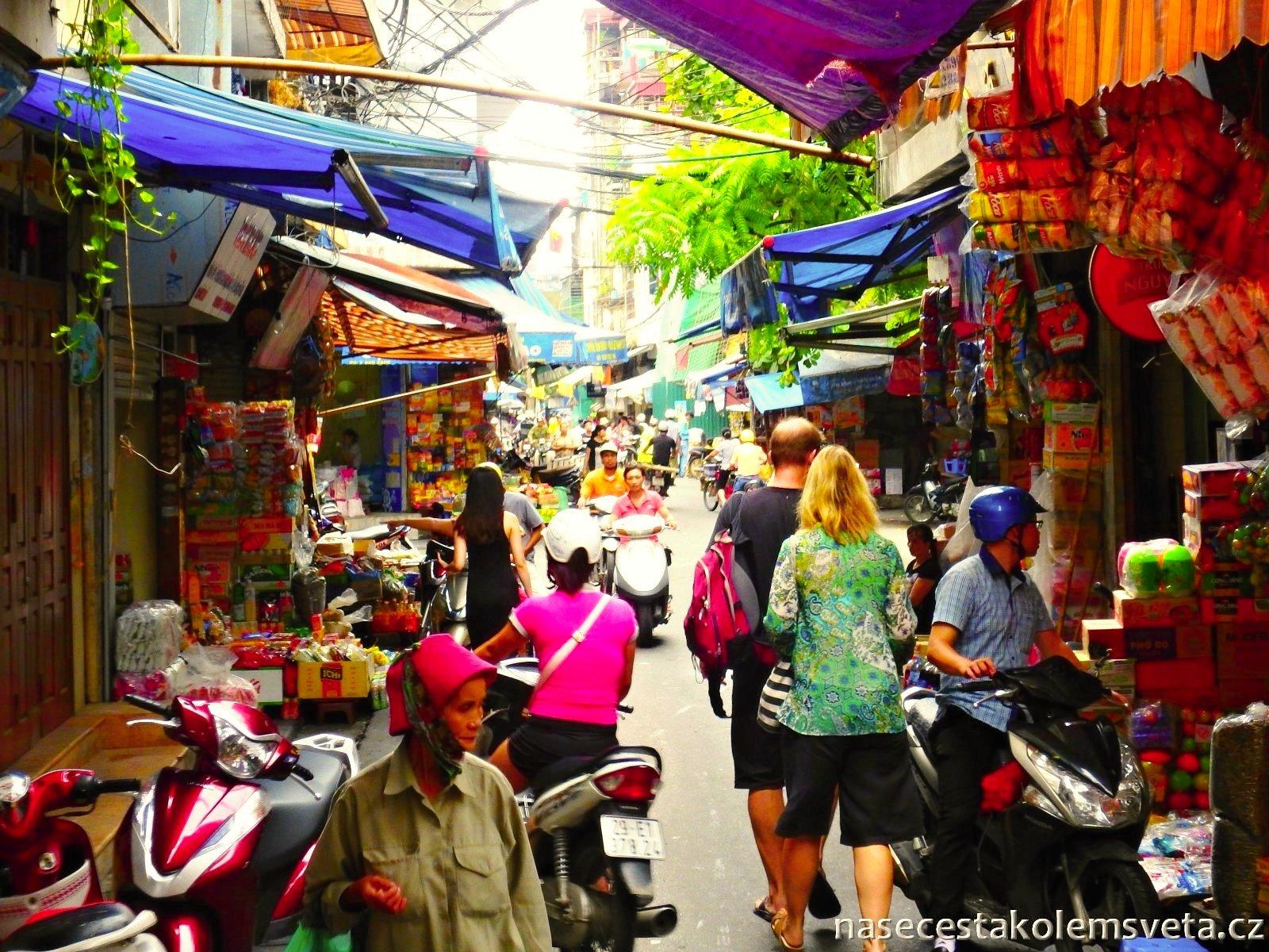 Hanojské ulice