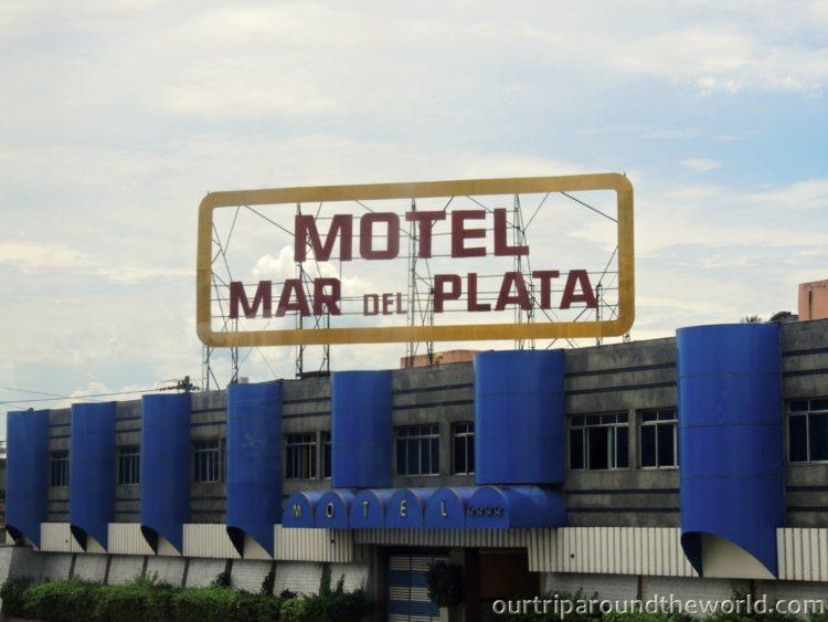 Cesta autobusem do Iguacu