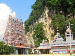 chrám Kallumalai Murugan v malajsijském Ipohu