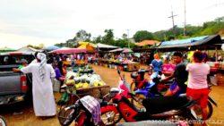 Ko Lanta trh s jídlem