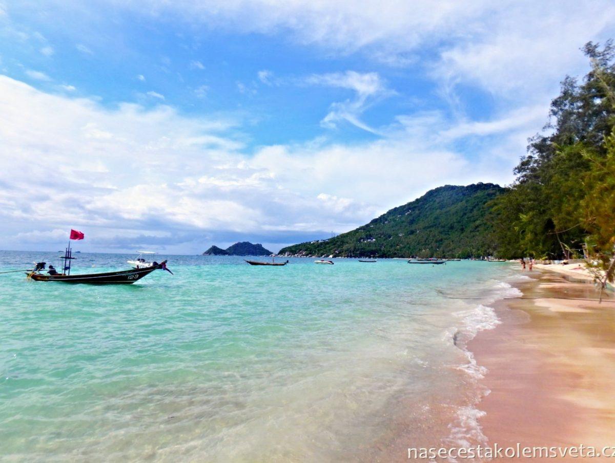 Ko Tao pláž Thajsko