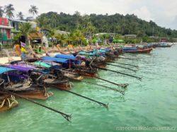 Lodě Ruea Hang Yao Ko Phi Phi Thajsko