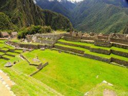 Namesti na Machu Picchu