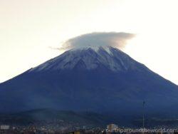 vulkán Misti Arequipa