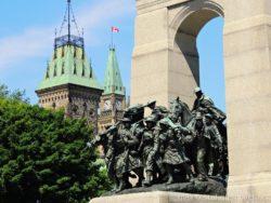 památník National War Memorial Ottawa Canada