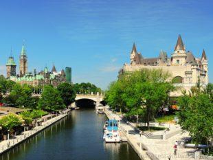 Parlament a Chateau Fairmont Ottawa