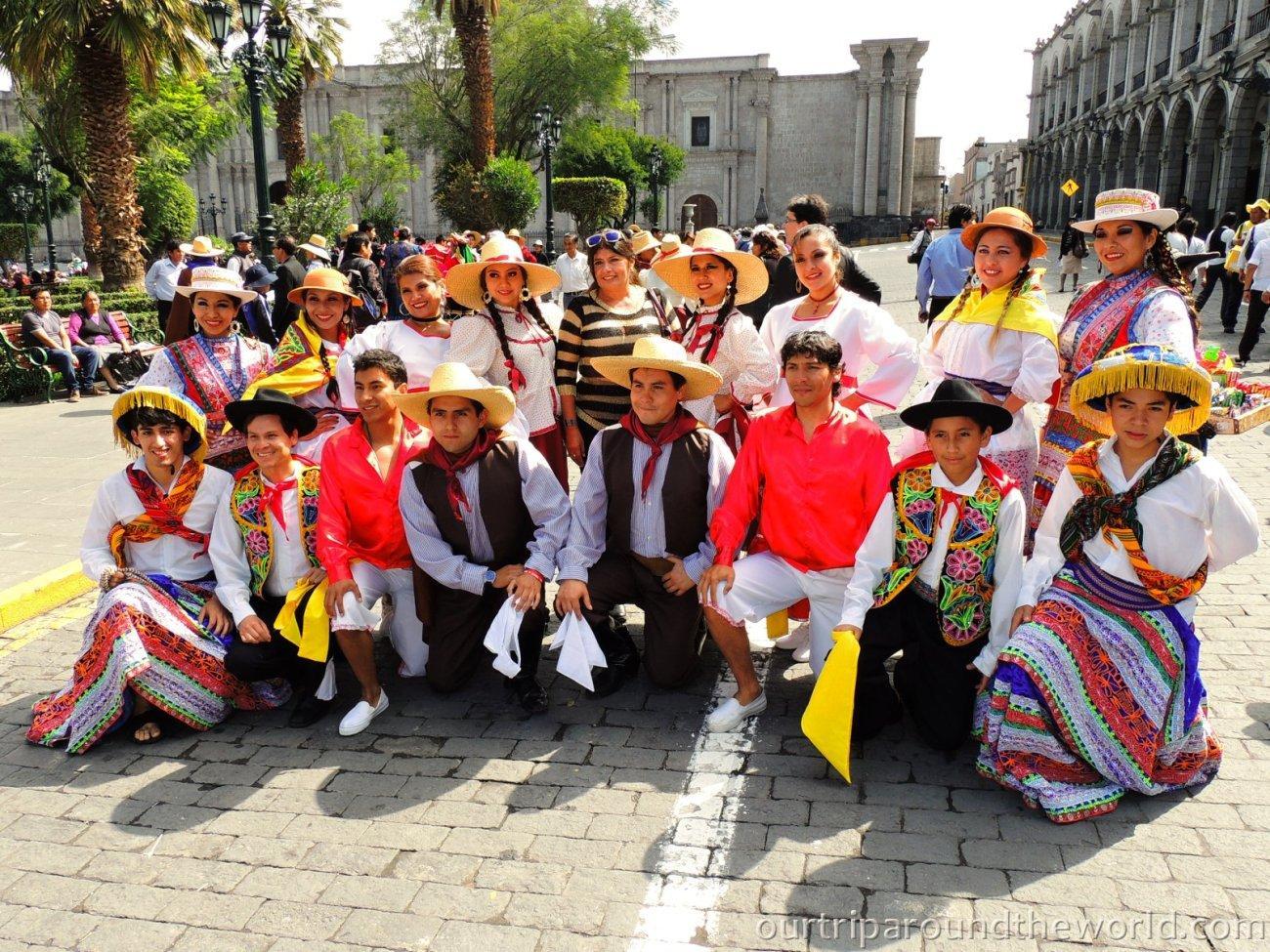 peruánský folklór