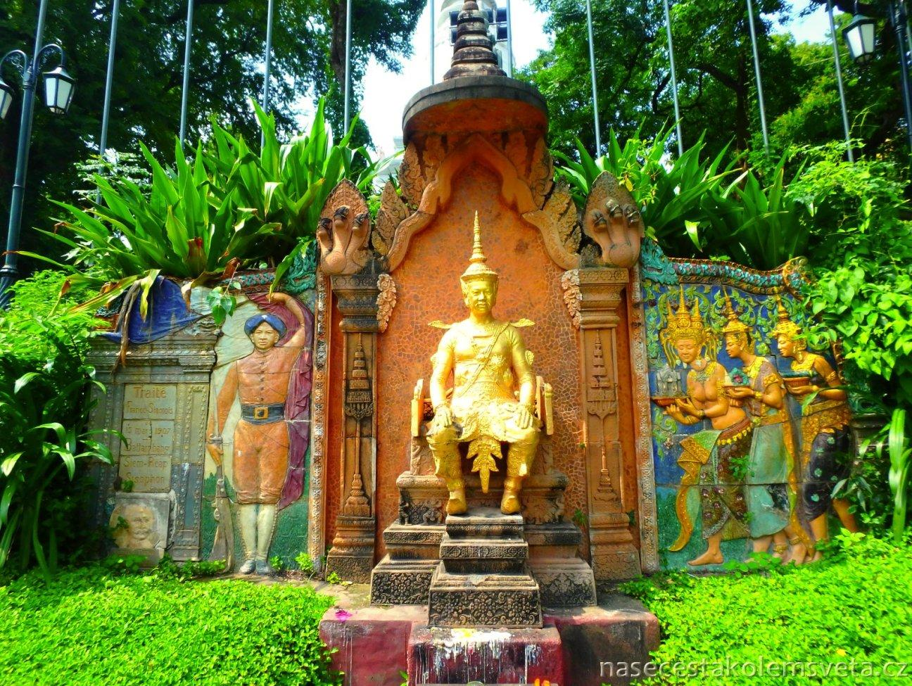 Phnom Penh Kambodžský král