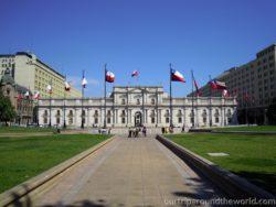 Prezidentský palác Santiago de Chile