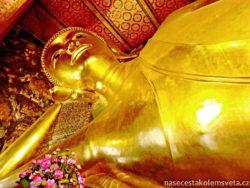 Ležící Buddha Bangkok
