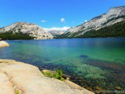 jezero Tenaya Lake Yosemity