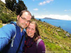 My u jezera Titicaca
