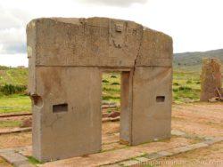 Tiwanaku Brána slunce