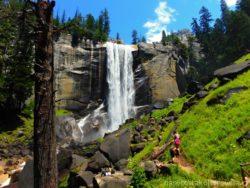 vodopád Vernal Fall Yosemity