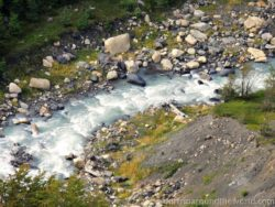 řeka v Torres del Paine