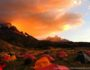 východ slunce Paine Grande Torres del Paine